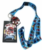 Mighty Morphin Power Rangers Lanyard with ID Holder and Charm