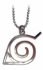 Naruto: Konoha (Leaf Village) Symbol Anime Cosplay Necklace