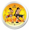 One Piece: Luffy & Ace Wall Clock