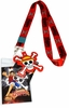 One Piece Luffy Lanyard with Badge ID Holder & Straw Hat Pirates Charm
