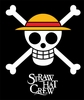 One Piece: Straw Hat Crew Pirate Skull Throw Blanket