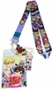 Ouran High School Host Club Lanyard with Badge ID Holder & Metal Charm