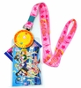 Sailor Moon Lanyard with ID Badge Holder and Brooch Charm