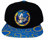 Sonic the Hedgehog: Sonic Rings Sublimated Bill Snapback Hat