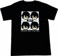 Sword Art Online: Kirito Faces T-Shirt