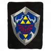The Legend of Zelda Hylian Shield Throw Blanket