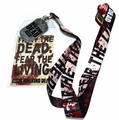 The Walking Dead Lanyard with ID Holder and Dog Tag