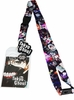 Tokyo Ghoul Lanyard with Sticker ID Badge Holder and Charm