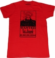 Trigun: Vash the Stampede Wanted Red T-Shirt