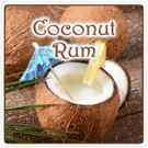 Coconut Rum Flavored Coffee (1lb Bag)