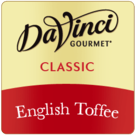 DaVinci English Toffee Syrup 750ml