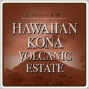Hawaiian Kona 'Volcanic Estate' Coffee 1lb (16 oz)