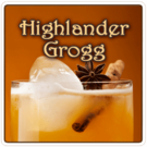 Highlander Grogg Flavored Coffee 1lb (16 oz)