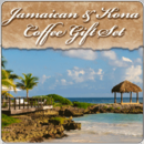 Jamaican and Kona Coffee Gift Set