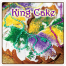 King Cake Flavored Decaf Coffee (5lb Bag)