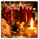 Kozy Fire Flavored Decaf Coffee (1lb Bag)