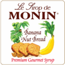 Monin Banana Nut Bread Syrup 750ml