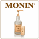 Monin Caramel Sauce (64oz Bottle)