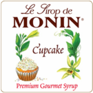 Monin Cupcake Syrup 750ml