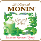 Monin Frosted Mint Syrup 1L