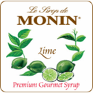 Monin Lime Syrup 750ml