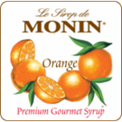 Monin Orange Syrup 750ml