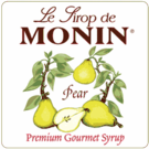 Monin Pear Syrup 750ml / 25.4 fl oz.