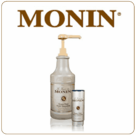 Monin Sugar-Free Dark Chocolate Sauce (64oz Bottle)