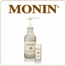 Monin White Chocolate Sauce (64oz Bottle)
