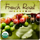 Organic French Roast Coffee 1lb (16 oz)