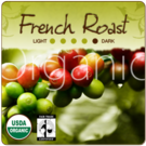 Organic French Roast Fair-Trade Coffee (1lb Bag)