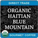 Organic Haitian Blue Mountain Direct Trade Coffee, 1lb (16 oz)