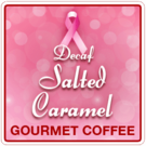Salted Caramel Flavored Decaf Coffee (1lb Bag)