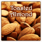 Toasted Almond Flavored Coffee 1lb (16 oz)