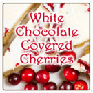White Chocolate Covered Cherries (1lb Bag)