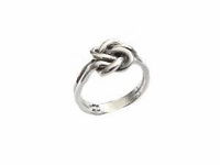 Plus Size Ring-Sterling Silver Large Celtic Knot