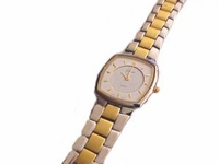 Plus Size Watch Two Tone Band for Womans Large Wrist