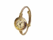 Plus Size Watch Women's Cable Wrap-Two Tone