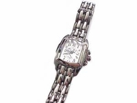Plus Size Watch Women's-Silver Tone 8 Inch