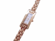 "Women's Plus Size Watch Gold Tone 9.5"" (Style 16)"