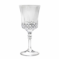 Cut Crystal-Look Wine Goblet