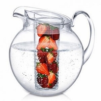 Big Round Fruit Infusion Acrylic Pitcher