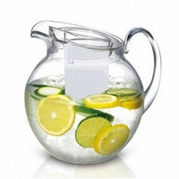 Big Round Ice Core Acrylic Pitcher