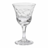 Cascade Clear Acrylic Wine Glass