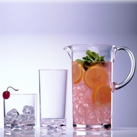 Classic Unbreakable Polycarbonate Tumbler & Pitcher Set