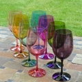 Colorful Wine Glasses (Set of 8)
