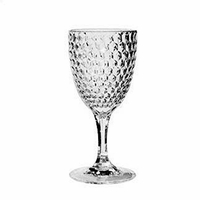 Diamond Clear Acrylic Wine Glass
