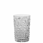 Fleur de Lis Double Old Fashion Tumbler