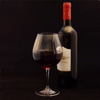 Flight Unbreakable Polycarbonate Plastic Red Wine Glass - 22 Oz.