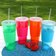Freezable Insulated Tumbler Set/4 - 22 Oz.